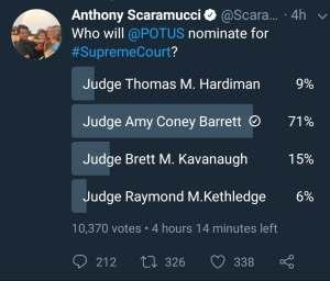 Scaramucci Poll