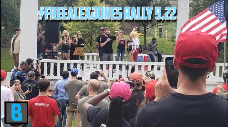 Owen Shroyer #FreeALexJones Rally